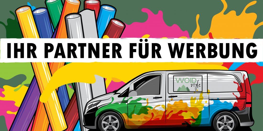 Ihr Partner für Werbung woidstyle Landkreis Regen Kirchberg im Wald Werbung Werbetechnik Grafikdesign Webdesign
